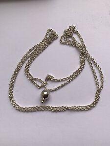 Genuine Chamilia Chain Necklace  -  Adjustable Size #5/8