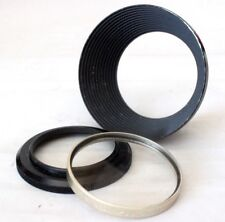 Paillard Bolex Lens Hood & UV Filter For Som Berthiot Zoom Lens On P1 P2 P3 8mm
