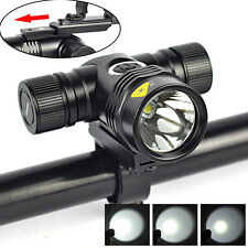 2500LM LED 5-Modes 18650 Bicycle Bike Head Light Lamp Torch Flashlight