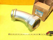 """**NEW** COOPER CROUSE HINDS LTB40045 4"""" SEALTITE LIQUIDTIGHT 45 DEGREE CONNECTOR"""