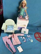 Mattel Barbie Baby Doctor & 2 Simba Babies B#3