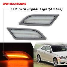 Front Side Marker Corner Light Lamp Passenger Side for 2012-14 C200 C250 C300