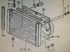 PORSCHE 944 & 968 Twin radiateur ventilateur