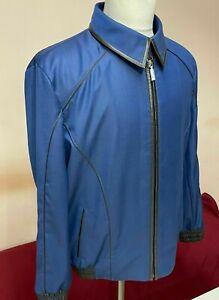 4000$ limited edition  ZILLI MEN JACKET  Wool Silk SIZE 52 L