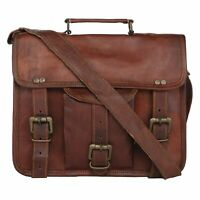 Men Excellent Leather Casual Messenger Bag Cross-body Tote Handbag Shoulder Bag