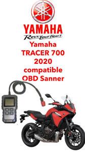 Yamaha  FI, OBD2 fault code scanner diagnostic tool Tracer 700 2020