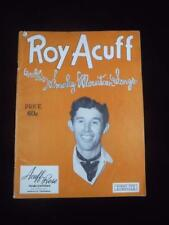 1943 Roy Acuff and His Smoky Mountain Songs 20 Songs Vocal Piano Guitar Music