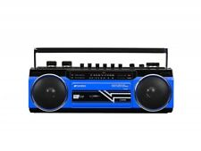 SANSUI Bluetooth SCR-B2 Blue Boombox USB SD card MP3 Japan Import With Tracking