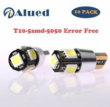 10pcs White T10 501194 W5W 5630 LED Car 5 SMD HID Canbus Error Free Wedge Light