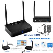 IR 4K Wireless HDMI Transmitter Receiver Video 5.8GHz 350m AV Sender Extender