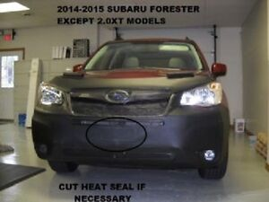 Lebra Front End Mask Bra Fits 2014-2016 Subaru Forester  exc. 2.0XT Models