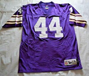 Chuck Foreman #44 Minnesota Vikings Reebok Gridiron Classic Jersey - Size Large