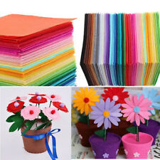 22pcs Non Woven Fabric Multi-color Sewing Polyester Cloth Felts DIY Bundle