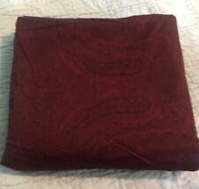 Ralph Lauren Doncaster Paisley  Queen Flat Sheet New W/Out Pkg