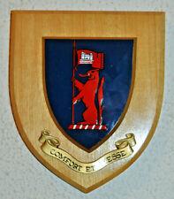 Doncaster Grammar School wall plaque shield crest coat of arms