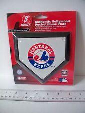 "MLB Montreal Expos Logo 5"" Authentic Hollywood Pocket Mini Home Plate (coaster)"