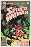 Spider-Woman #47 (Dec 1982, Marvel) [Newsstand] Ann Nocenti, Brian Postman v