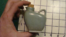 Vintage Original - hand made in Vermont small pitcher w cork - pottery
