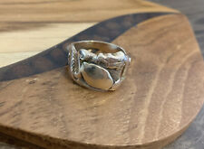 Snake Dragon Nugget Mens Solid Gold Ring antique vintage 18k 9.7 grams