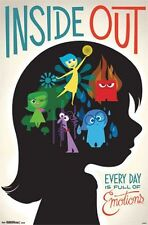 INSIDE OUT - EMOTIONS NEW MOVIE POSTER - 22x34 DISNEY PIXAR 13734