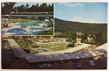 Howard Johnson's Motor Lodge Hotel in Asheville, North Carolina Chrome Postcard