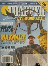 Trapper & Predator Caller Jan 2017 Trapline Performance Fur FREE SHIPPING sb
