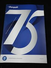 NOS Campagnolo 75th Anniversary Edition Catalog 2008 - Campy Bike Catalogue