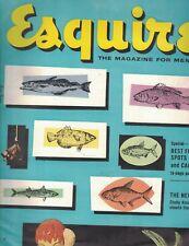 Esquire Magazine June 1953 Belmont Track Anna Held Peggy Carr