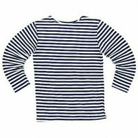 TELNYASHKA RUSSIAN MILITARY ARMY NAVY STRIPED DARK BLUE T-SHIRT long sleeve