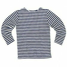 SALE TELNYASHKA RUSSIAN MILITARY ARMY NAVY STRIPED DARK BLUE T-SHIRT long sleeve