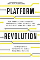 Platform Revolution How Networked Markets Are Transforming the ... 9780393354355