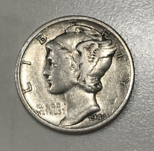 "1944 S Silver Mercury Dime, Good Album Filler ""Free Shipping�"