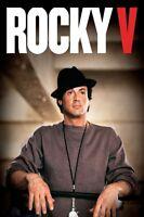 ROCKY V - Sylvester Stallone - FSK 12 - DVD - NEU / OVP
