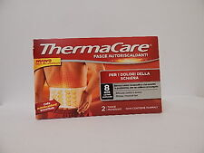 THERMACARE BANDS SELF-HEATING FOR THE PAIN OF BACK 2 BANDS SINGLE-USE