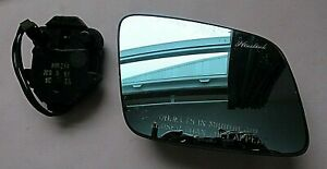 Ford Right Side Mirror Glass with Back Plate Motor - 91 Lincoln Continental