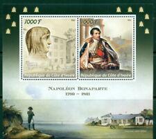 2016 NAPOLEON MINIATURE SHEET MNH SET OF 2 VALUES MILITARIA HISTORY