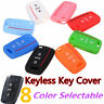3 Buttons Remote Key Silicone Cover Fob Case Shell For Volkswagen VW Golf 7 Mk7