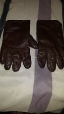 mens leather rabbit fur gloves