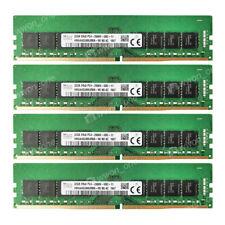 For Hynix 128GB 4x32GB 2Rx8 DDR4-21300U 2666Mhz 1.2V 288pin Desktop UDIMM Memory