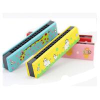Holz Musik Instrument Educational Geburtstag Baby Lernspielzeug Mundharmonika