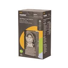 Tork 1101B 24 Hour Time Switch SPST LED 120V Indoor
