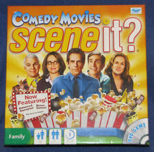 SCENE IT? COMEDY MOVIES DELUXE EDITION SCREEN LIFE GAMES 2010  FACTORY SEALED!!!