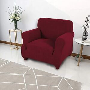 1/2/3/4 Seat Spandex Stretch Sofa Slip Covers Protector Couch Chair Slipcovers