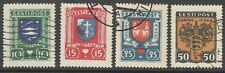 Estonia 1936 Mi 109-12, Used