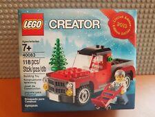 Lego Creator/40083/Ltd Edition/2013 Vacances lego store/Arbre de Noël camion/Entièrement NEUF dans sa boîte