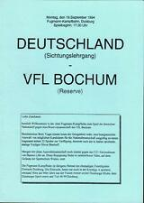 19.09.1994 Deutschland - VfL Bochum in Duisburg