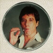 Scarface Tony Montana Smoking Patch Picture Embroidered Border World is Yours