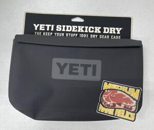 Brand New YETI SideKick Dry Waterproof Gear Bag - Charcoal - Free Ship *IN HAND*
