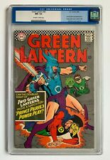 GREEN LANTERN #45, DC, CGC 9.2, 2nd appear. of Golden Age Green Lantern in title