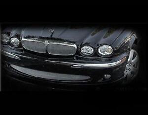 Jaguar X-Type Upper Mesh Insert and Lower Mesh Grille Grill PKG 2002-2007